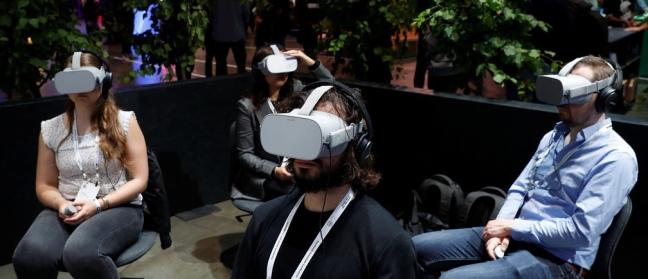 David Brodosi VR goggles
