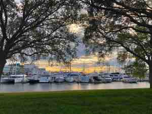 david Brodosi photo of Baybor Harbor Sunrise