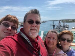 David Brodosi and his family