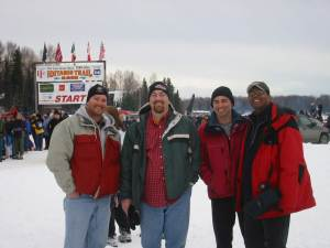 David Brodosi traveling with friends to Alaska