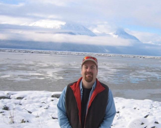 David brodosi in Anchorage Alaska with family