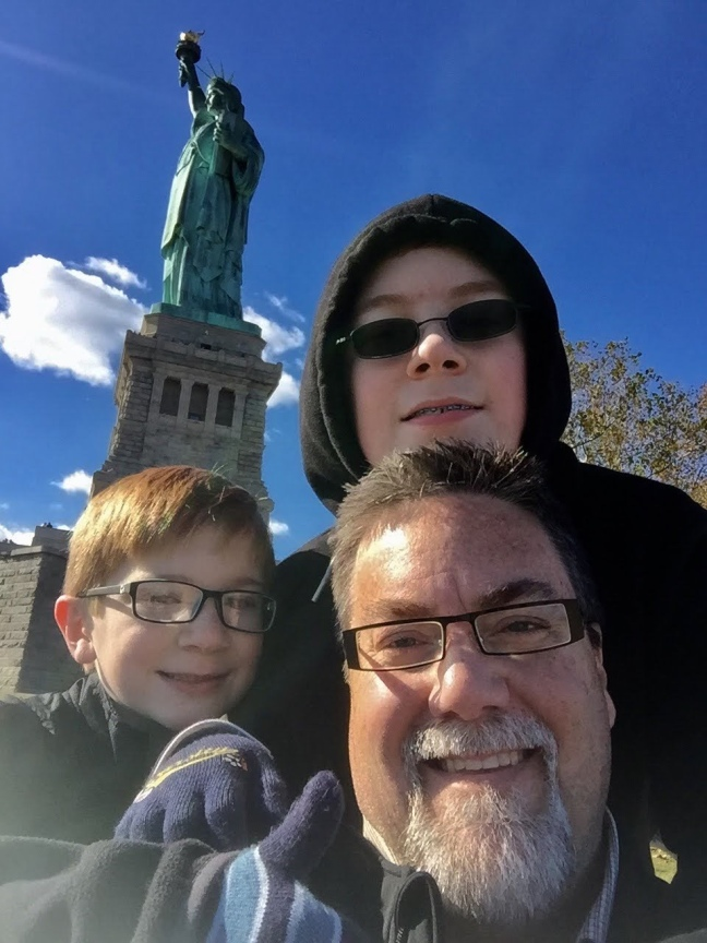 david brodosi and family travel to NY